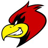 Mascot Grin cardinal Fotografía de archivo