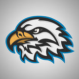 Mascot head of an eagle Royalty Free Stock Images