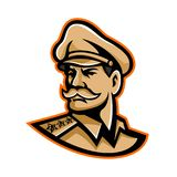 American General Mascot Stock Photo