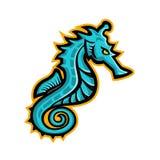 Seahorse Mascot Stock Photo