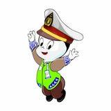 Mascot Indonesian Police Stock Photos