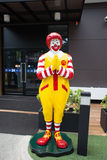 Mascot of a McDonald's Restaurant Royalty Free Stock Image