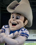 Mascot Rowdy. In Cowboy practice facility  Ford Center, Frisco TX USA Stock Image