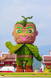 Mascot of Royal Flora 2011-2012 Show at Chiangmai Stock Photos
