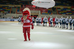 Mascot of Spartak team Royalty Free Stock Photography