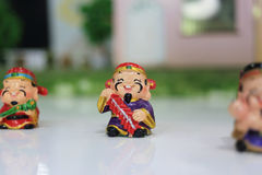 Mascot. The traditional Chinese auspicious characters Royalty Free Stock Photos