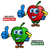 Mascota de Apple Imagen de archivo libre de regalías