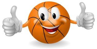 Mascota de la bola de la cesta Fotografía de archivo libre de regalías