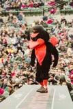 Mascota de los Baltimore Orioles Imágenes de archivo libres de regalías