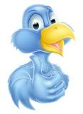 Mascota del azulejo de la historieta Imágenes de archivo libres de regalías