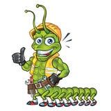 Mascota del ciempiés Stock de ilustración