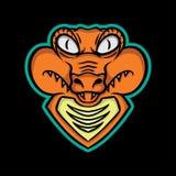 Mascota del cocodrilo Fotografía de archivo
