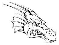 Mascota del dragón Foto de archivo