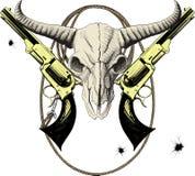 Mascota del oeste salvaje Imágenes de archivo libres de regalías
