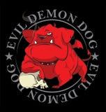 Mascota del vector del dogo Fotografía de archivo
