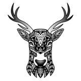 Mascota negra de los ciervos de la fantasía Fotografía de archivo