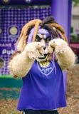 Mascota para Orlando City Soccer Club Foto de archivo libre de regalías