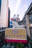 Mascota para Tachikawa, Japón Foto de archivo libre de regalías