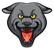 Mascota principal de la pantera stock de ilustración