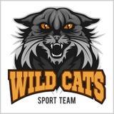 Mascota salvaje - equipo de deporte ilustración del vector