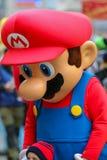 """Mascotas Mario-Nuremberg Desfile-estupenda 2016 del € de Toon Walkâ """" Fotografía de archivo"""