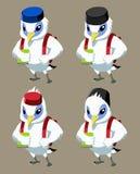 Mascote Ilustração Stock
