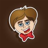 Mascote bonito da criança Imagens de Stock