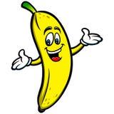 Mascote da banana Fotografia de Stock