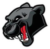 Mascote da pantera preta Imagens de Stock Royalty Free