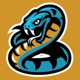 Mascote da serpente Fotos de Stock Royalty Free