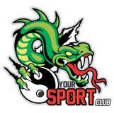 Mascote da serpente Imagens de Stock Royalty Free