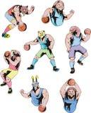 Mascote do esporte - basquetebol Imagem de Stock Royalty Free