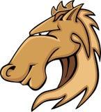 Mascote do gráfico do garanhão do mustang Fotos de Stock Royalty Free