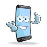 Mascote do móbil da pilha do vetor Fotografia de Stock