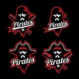 Mascote do pirata Fotos de Stock