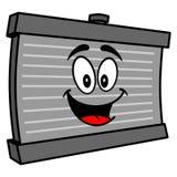 Mascote do radiador ilustração do vetor