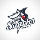 Mascote do tubarão Foto de Stock