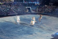 Mascote dos Olympics Foto de Stock