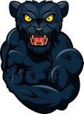 Mascote forte da pantera Fotografia de Stock Royalty Free