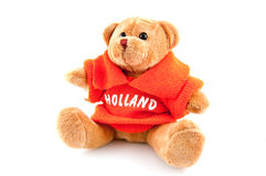 Mascote holland do futebol por o WK Fotos de Stock Royalty Free
