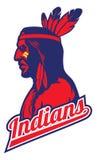 Mascote indiana do tribo Fotos de Stock Royalty Free