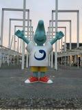 Mascote no parque da nação Foto de Stock Royalty Free