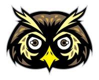 Mascote principal da coruja Fotos de Stock Royalty Free