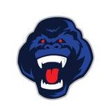 Mascote principal do gorila Imagem de Stock Royalty Free