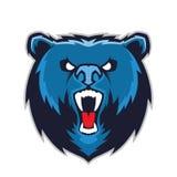 Mascote principal do urso Foto de Stock Royalty Free