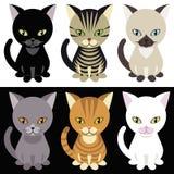 γατάκια mascotte Στοκ Εικόνα