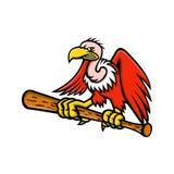 Mascotte californiana di baseball del condor Fotografie Stock Libere da Diritti