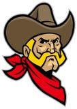 Mascotte capa del cowboy Fotografie Stock