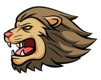 Mascotte capa del leone Fotografia Stock