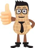 Mascotte d'arachides Photo libre de droits